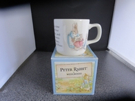 Oorbeker Wedgewood Peter Rabbit